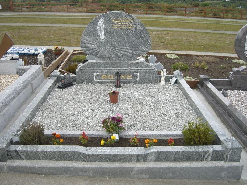 P J Byrne Monumental Headstone Renovation Headstone